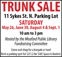 Library Trunk Sale Ad