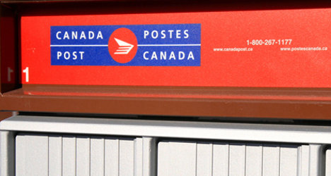 can post mail box