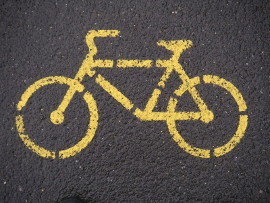 cycling sign270