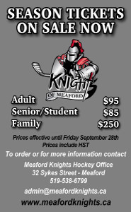 Knights Hockey Billets