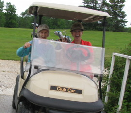 womens golf cart 270