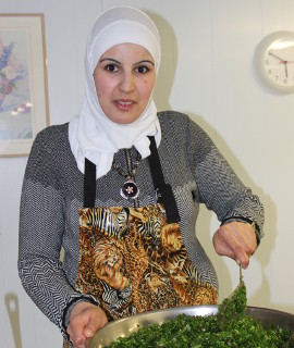 Syrian refugee family hosts community dinner in celebration of one year in Meaford (The Meaford Independent, Feb 22/17).
