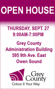 Grey County Open House