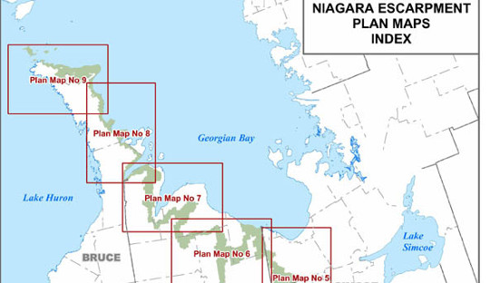 Niagara Escarpment Wisconsin Map.Municipality Wants Commenting Period For Niagara Escarpment Plan